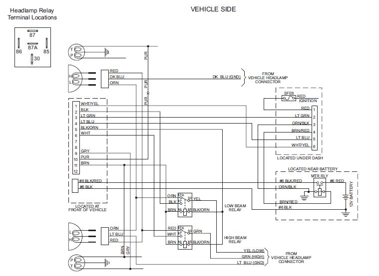 Western Ultramount Wiring Diagram