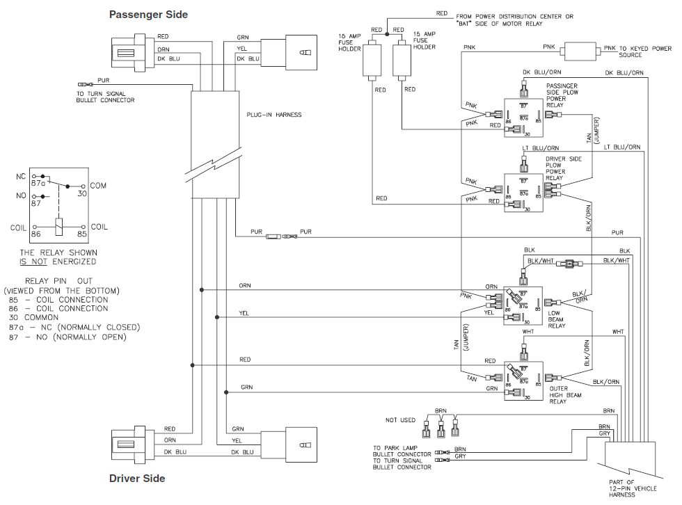 boss plow wiring diagram truck side   35 wiring diagram