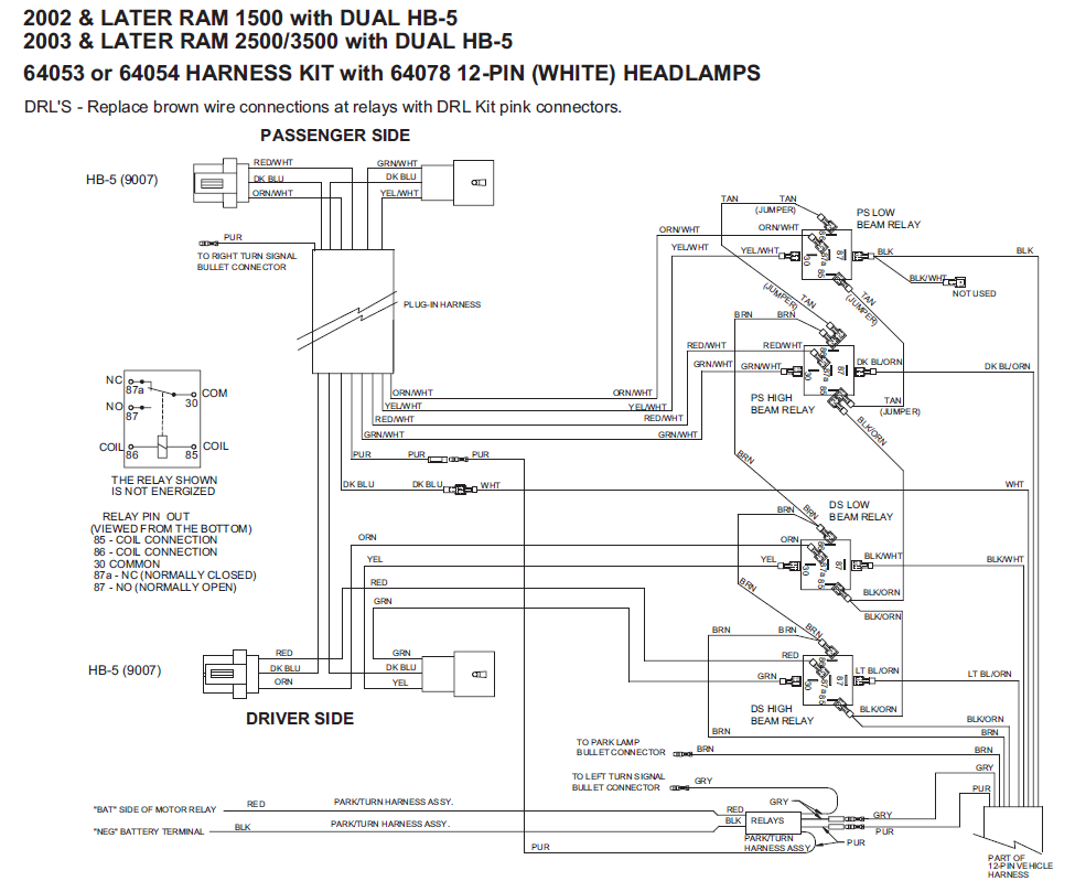 Fisher Plow Wiring Diagram 2005 Gmc Library 2006 F350 Alternator 64053 Western Unimount 02