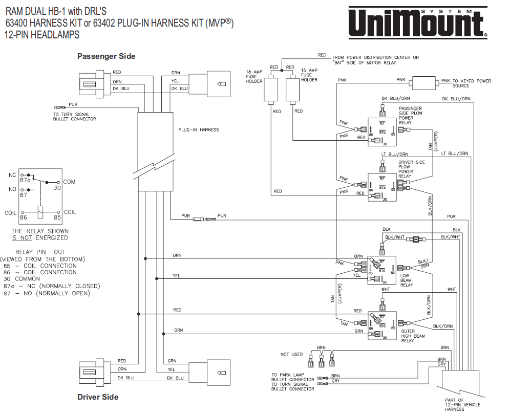 Western Unimount Wiring Diagram 12 Pin Schematics Diagrams Uni Mount Schematic Mvp U2022 Rh Ssl Forum Com Plow Solenoid