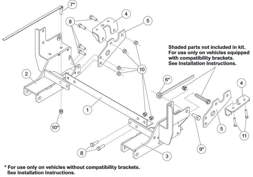 10 diesel western ultramount   33886