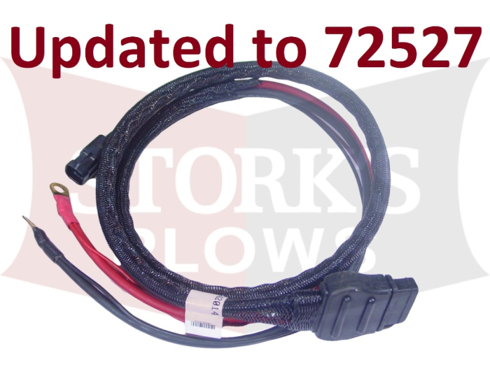 Vehicle Side Battery Cable Assembly Western SnowEx Part # 42014