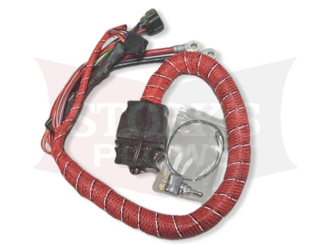 Blizzard plow side wiring harness