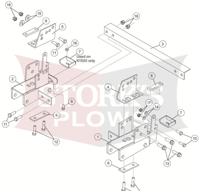 western pro plow wiring diagram new 67865 chevy gmc truck 88 2000 4x4 western ultramount  snowex  new 67865 chevy gmc truck 88 2000 4x4