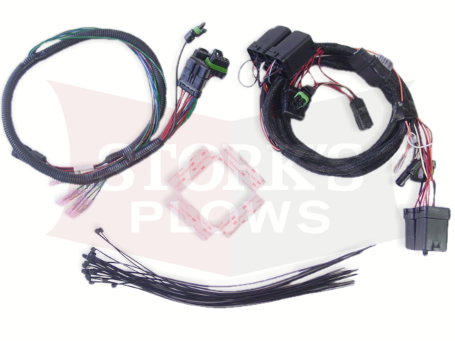 69892-1 Western Fisher 11 Pin Relay Wiring Harness Kit for 3-Port Isolation  ModuleStorks Plows