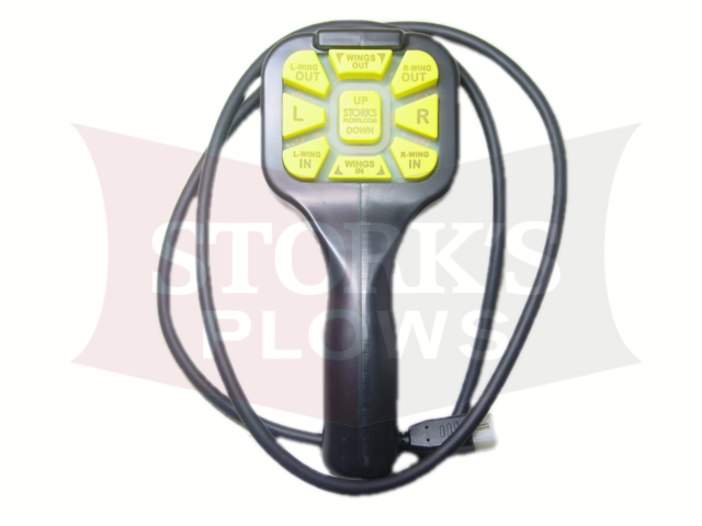 Aftermarket Fisher Expandable Plow 4 Pin Plug XLS Handheld Control MM 29800