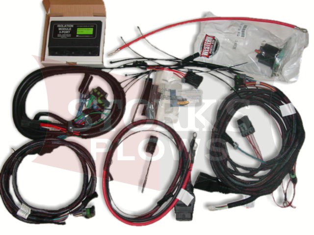 Western 3 port 3 plug wiring kit isolation module truck side Ultramount  unimountStorks Plows