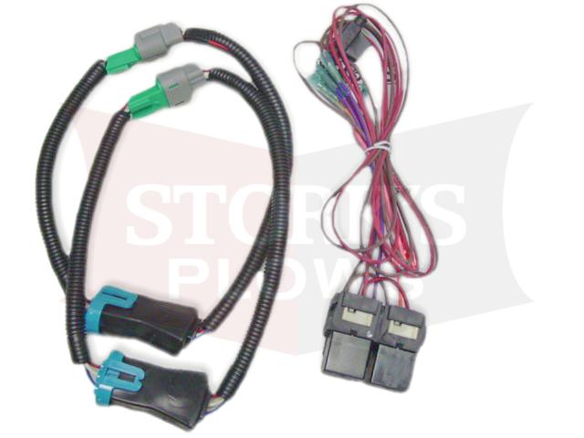 MSC09993 Boss headlight adapter kit H13 Ford & DodgeStorks Plows