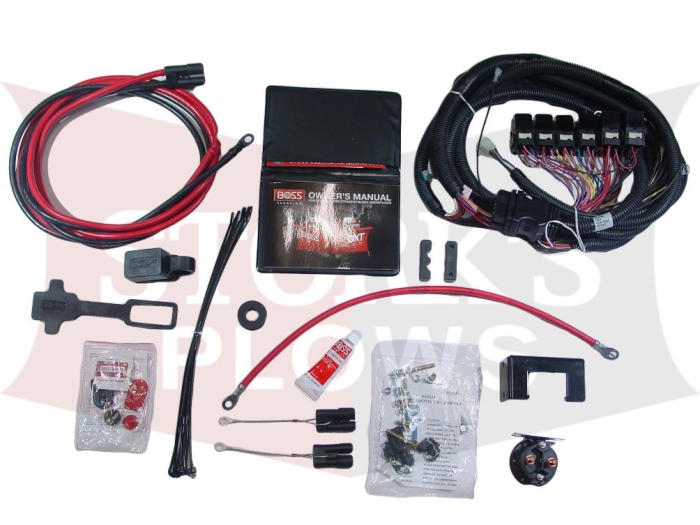 MSC25000 Boss RT3 SH2 Smart Hitch 12V Universal Wiring KitStorks Plows